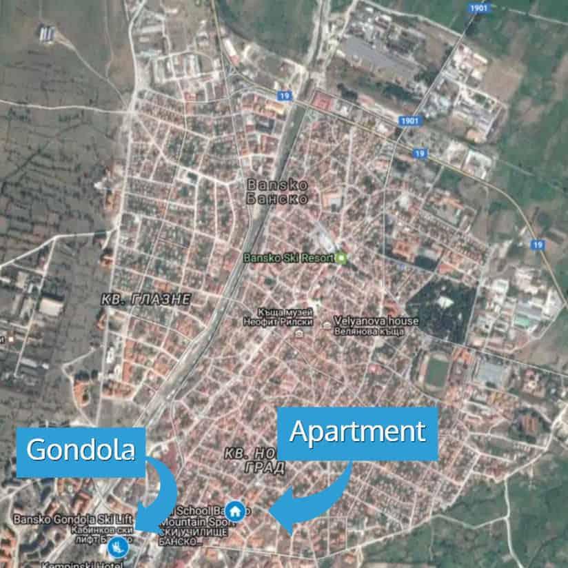 bansko-map