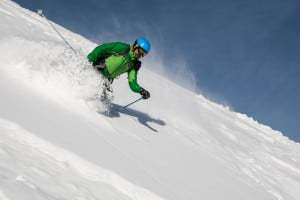 Advanced skiing in Bansko